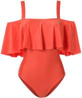 Adriana Degreas ruffled swimsuit