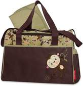 "Fisher-Price Monkey Forest"" Diaper Bag"
