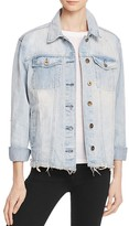 Pistola Amira Raw Denim Jacket in Luca