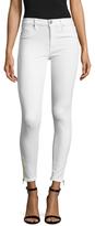 Hudson Nico Cotton Ankle Zip Skinny Jean
