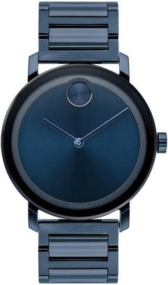 Movado Bold Men's 40mm Bold Evolution Watch, Blue