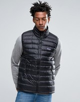 Patagonia Down Sweater Gilet In Black