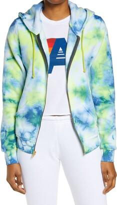 Aviator Nation Tie Dye Full Zip Hoodie