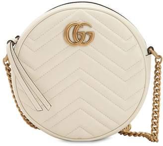 Gucci MINI CIRCLE GG MARMONT LEATHER BAG