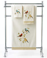 Avanti Bath Towels, Gilded Birds Fingetip Towel Bedding