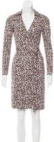 Diane von Furstenberg Silk Leopard Print Kira Dress