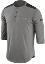 Nike Men's Ohio State Buckeyes Dri-Fit Henley T-Shirt