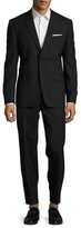 Givenchy Solid Shawl Lapel Suit