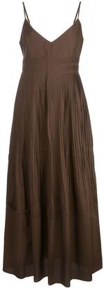 Nicholas Pleated Midi Dress