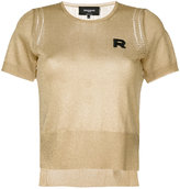 Rochas short-sleeve logo jumper