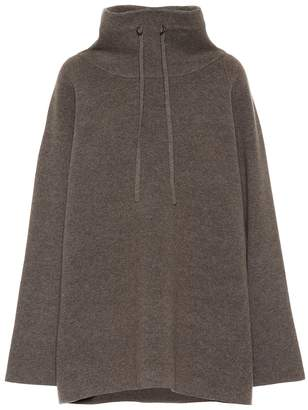 The Row Carina felted wool-blend sweater