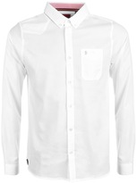 Luke 1977 Archie Keyte Long Sleeve Shirt White