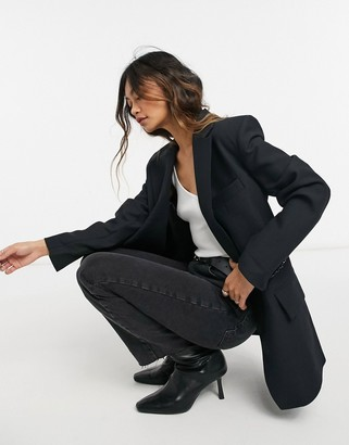 And other stories & oversized blazer in black
