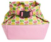 Girl's Popatu Macaron Print Roll Top Lunch Bag - Pink