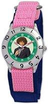 Disney Kids' D053S503 High School Musical Chad Pink Velcro Watch