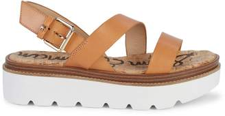 Sam Edelman Rasheed Leather Platform Sandals