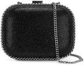 Stella McCartney 'Falabella' encrusted clutch bag - women - Crystal/Artificial Leather/metal - One Size