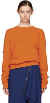J.W.Anderson Orange Multi Pocket Sweater