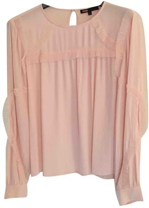 Maje Spring Summer 2018 Pink Top for Women