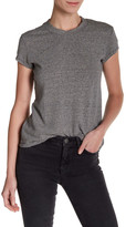 MiH Jeans Range Striped Linen Blend Tee