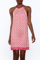 Mud Pie Pink Scalloped Dress
