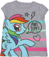 My Little Pony Short Sleeve T-Shirt-Toddler Girls