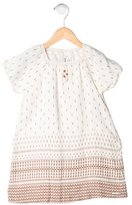 Chloé Girls' Patterned Short Sleeve Dress