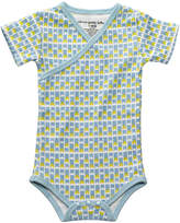 Petunia Pickle Bottom Gray Angels & Arrows Organic Cotton Bodysuit