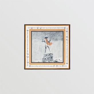 Burberry Christmas Print Silk Square Scarf