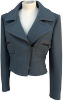 Chloé Blue Wool Coat