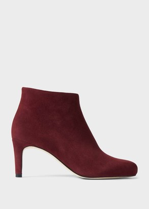 Hobbs Lizzie Suede Stiletto Ankle Boots