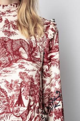 Zadig & Voltaire Rocket Jouy Satin Dress