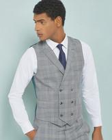 Debonair Checked Wool-mohair Waistcoat