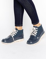 Kickers Hi Side Leather Boot