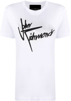 John Richmond logo print T-shirt