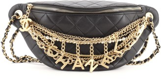 Chanel All About Chains Waist Bag Quilted Lambskin 20