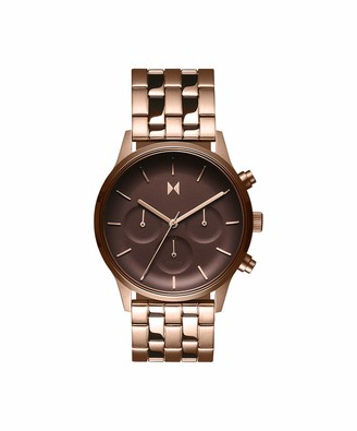 MVMT Women's Analogue Quartz Watch with Gold Tone Stainless Steel Strap 28000063-D