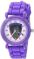 Marvel Girl's 'Guardian' Quartz Plastic and Silicone Casual Watch