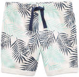 First Impressions Leaf-Print Shorts, Baby Boys, Created for Macy's