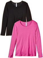 Sheego Women's Long Sleeve T-Shirt - Multicoloured -