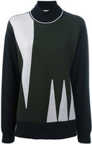 Marni turtle neck sweater - women - Virgin Wool - 44