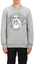 Givenchy Men's Rottweiler-Graphic Sweatshirt-GREY, LIGHT GREY