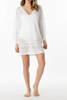Letarte Lace V-Neck Cover Up