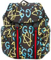 Gucci all over print backpack