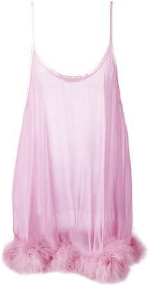 Gilda and Pearl Diana sheer slip dress