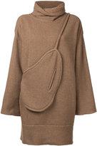 Osakentaro - oversized jumper - women - Wool - M