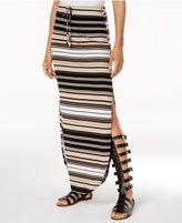 Ultra Flirt Juniors' Kylie Double-Slit Maxi Skirt