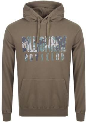Billionaire Boys Club Digi Camo Logo Hoodie Brown