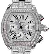 Cartier Roadster XL W62020X6 Stainless Steel With White Dial 47.6mm Unisex Watch