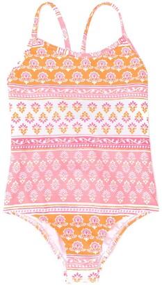 Sunuva Block Print Swimsuit